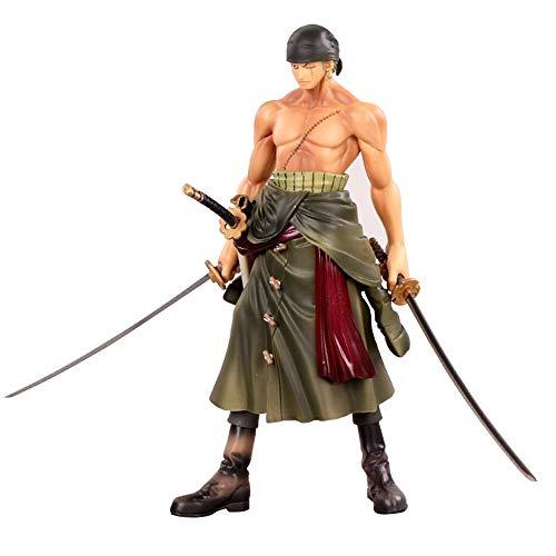 Roronoa Zoro Figura Model Estatua Juguetes 25cm