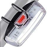 Luz Bicicleta Delantera Recargable USB de Apace - Potente Foco LED Faro de Seguridad para Bici -...