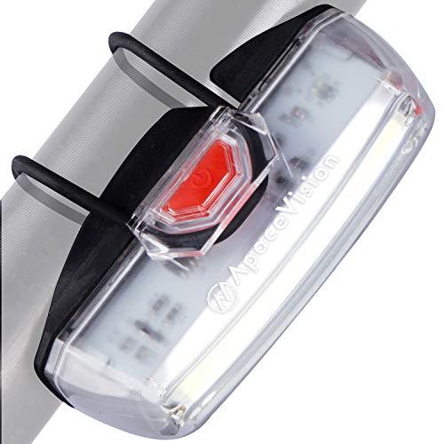 Luce Anteriore USB Ricaricabile per Bicicletta by Apace – Potente Luce di Sicurezza Anteriore per Bici – Super Luminosa 200 Lumen per una Visibilità Ottimale in Bicicletta