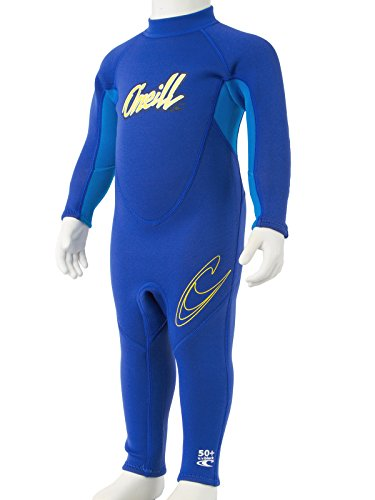 O'Neill Reactor Toddler Full Wetsuit 2 Pacific/Brite Blue/Yellow (4629B)