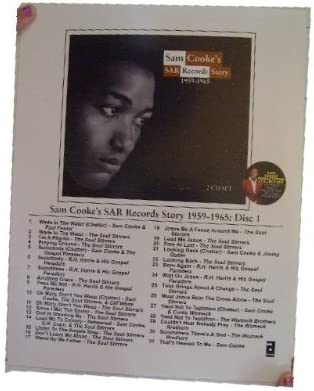 Sam Cooke Press Kit Photo SAR Remasters Abkco Free shipping In a popularity