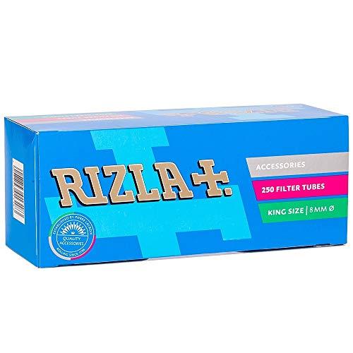 2000 SIGARETTE VUOTE RIZLA KING SIZE - 8 BOX DA 250 TUBETTI CADAUNO