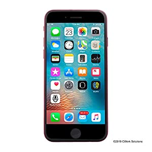 Apple iPhone 8 4.7in, 256 GB, Fully Unlocked, Red (Renewed) Front Display Screen