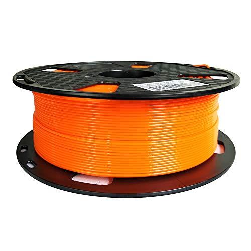 Filamento PETG naranja de fácil impresión de 1,75 mm 1 kg de filamento de impresión 3D carrete de...
