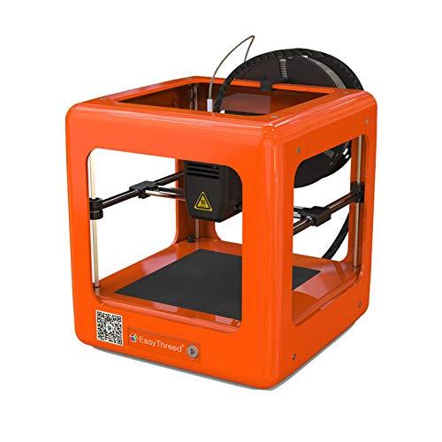 WUJIAN Stampante 3D DomesticaStampa 3D Arancione Mini Completamente Assemblatafamiglia