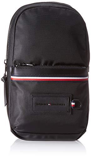 Tommy Hilfiger Modern Nylon Slingpack, Borse Uomo, Nero (Black), 8x36x20 centimeters (W x H x L)