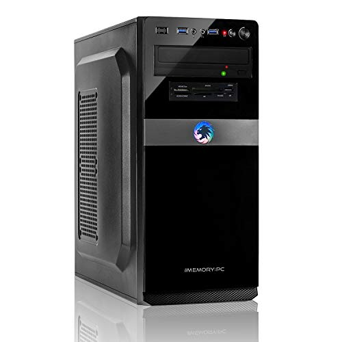 Memory PC Intel PC Core i5-9500F 6X 4.4 GHz Turbo, NVIDIA GT 710 2GB, 16 GB DDR4, 480 GB SSD + 2000 GB Sata3/-600, Windows 10 Pro 64bit