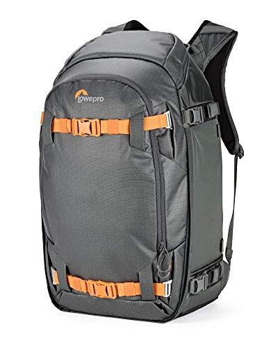 LXFMD Season Outdoor-Rucksack für Profis, Spiegelreflexkameras, Laptop und Outdoor-Ausrüstung (Farbe : Gray, größe : 33 x 25.5 x 60 cm)