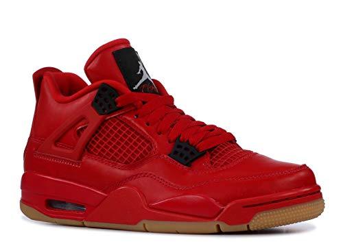 Nike Wmns Air Jordan 4 Retro Nrg, Scarpe da Fitness Donna, Multicolore (Fire Red/Summit White/Black 600), 39 EU