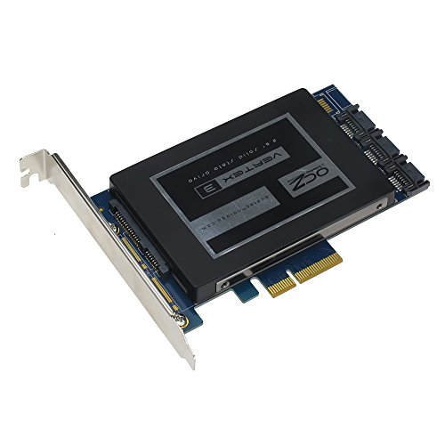 SEDNA - PCIe 6 G 4 44 Puerto para disco SSD Hybrid Raid adaptador con función de aceleración HyoperDuo disco duro