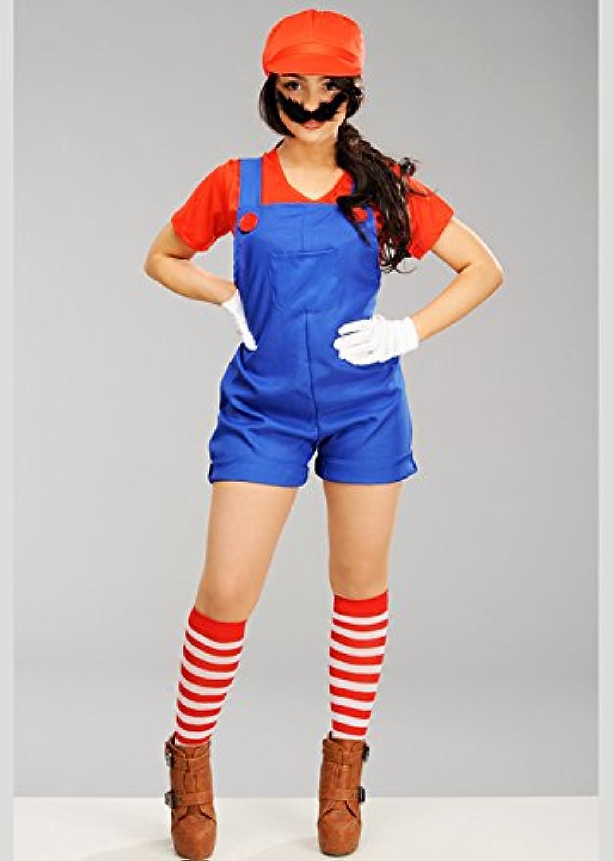 El nuevo outlet de marcas online. Delights Traje Femenino de la la la Muchacha del Fontanegro del Estilo de súper Mario Large (UK 16-18)  gran venta