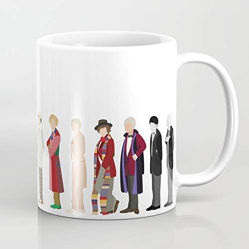 ZIQIZIYU Doctor Who 325 ml Kaffeetasse