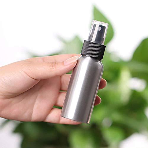 qq666 30/50/60/80/100/120/150 ML Mini Aluminium Cosmétique Émulsion Parfum Atomiseur Vide Vaporisateur Bouteille-120 ml3 pcs