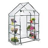 GARDEN MANIA Invernadero Portátil de Jardín, 143 x 73 x 195 cm - Cubierta de PE Resistente | Plantas Frutas Verduras Tomates Flores