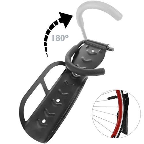 PrimeMatik muurhaak voor fiets, verstelbaar (BK050)