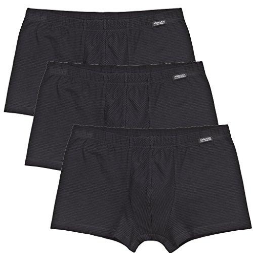 Ammann Herren Retro-Short Cotton & More 3er Pack Farbe schwarz, Größe 6