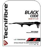 Tecnifibre Black Code Cordage tennis Noir 12 m x 1,24 mm