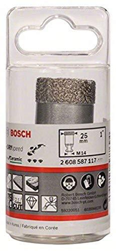 Bosch 2 608 587 117 - Coronas de diamante para perforación en seco Dry Speed Best for Ceramic (25 x 35 mm)