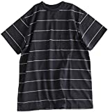 XL BLACK(90011398)necessary or unnecessary(ネセサリー オア アンネセサリー)BORDER TEE S/S(ボーダーTシャツ)