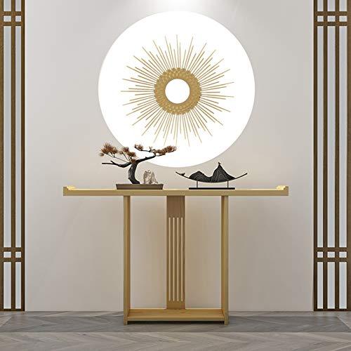 Möbelkonsole Tisch, Holz 80 cm Lange Side Tabelle Retro-Stil Konsolentische Für Flur Villa Schmale Konsolen-Tische Für Flur(Size:80 * 30 * 80CM,Color:#3)