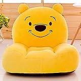Asiento de bebé Sofá de juguete para niños Mickey Mouse Flat Needle Angel Cartoon Home desmontable se puede lavar