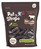 Pet 'n Shape Pet 'n Shape CHUNX Beef Lung Natural Dog Treats, 16 oz (1 lb) Bag