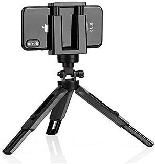 NMD&LR Trípode De Escritorio para Teléfono Móvil, Multifuncional Retráctil Mini Teléfono Móvil Portátil Selfie Stick Trípo...