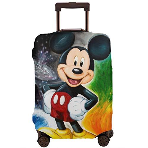 Funda para equipaje de viaje, diseño de Mickey Mouse, Minnie y Minnie