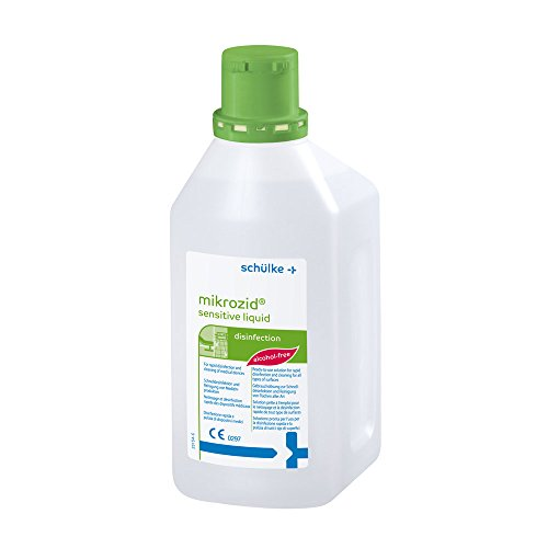 Schülke mikrozid® sensitive liquid, Flächendesinfektion Desinfektion alkoholfrei, 1Liter
