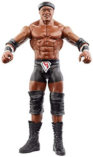 WWE - Figura de acción básica luchador Bobby Lashley con accesorios de lucha Juguetes niños +6 años (Mattel GCB86)