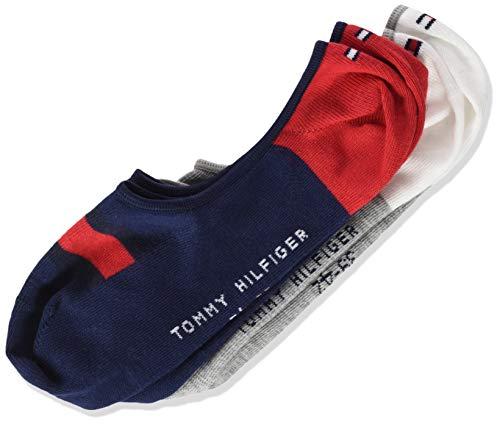 Tommy Hilfiger Jungen TH KIDS HILFIGER FOOTIE 2P Füßlinge, Mehrfarbig (Tommy Original 085), 35-38 (2er Pack)