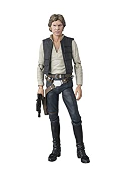 Bandai S.H.Figuarts Star Wars Han Solo A NEW HOPE  Approximately 6inch