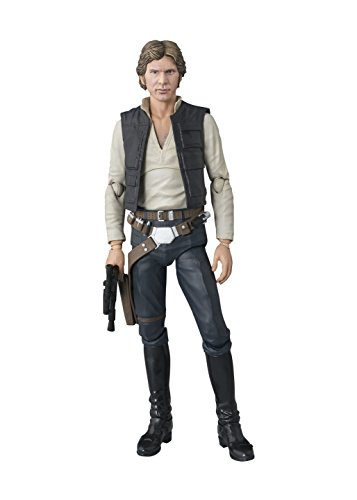 Bandai S.H.Figuarts Star Wars Han Solo(A NEW HOPE) Approximately 6inch image