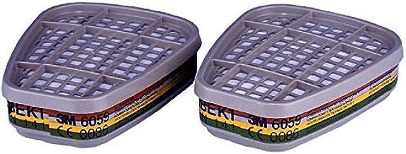 3M 6059, ABEK1 filter, tegen organische/anorganische en zure gassen/dampen en ammoniak (1 stuk).