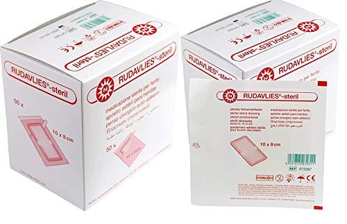 Rudavlies steril Wundschnellverband 100 Stück, 10 x 8 cm.