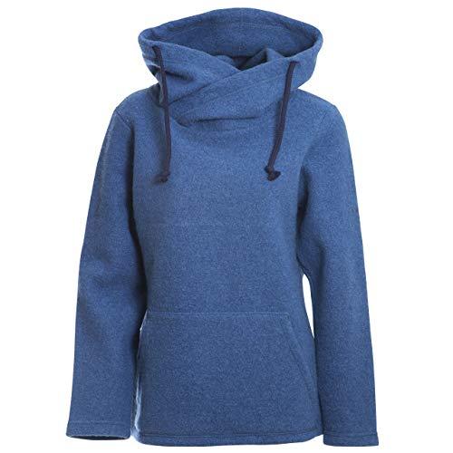Mufflon Damen Wollpullover Mu- Sina W100 Ocean blau - XXL