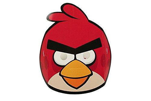 NEU Masken Angry Birds aus Pappe, 6 STK.