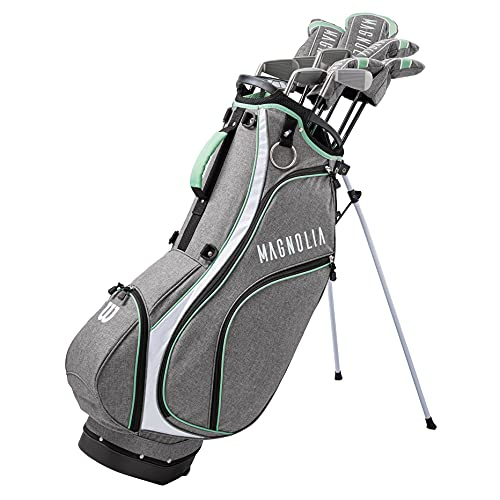 WILSON Magnolia Gray-Mint Womens Right Hand Carry Complete Golf Set