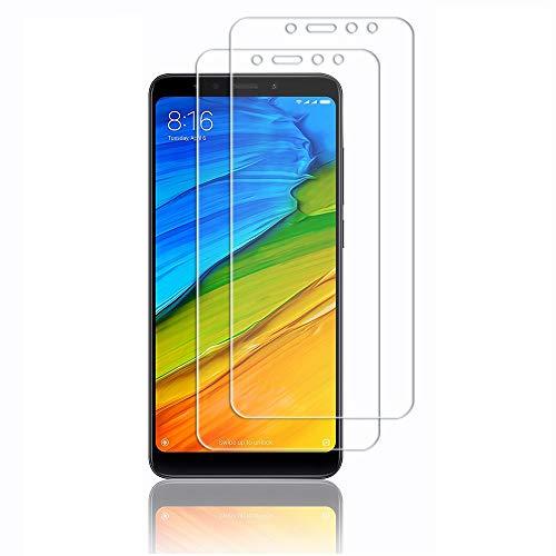 Didisky Pellicola Protettiva in Vetro Temperato per Xiaomi Redmi 5,[4 Pezzi] Protezione Schermo [Tocco Morbido ] Facile da Pulire, Facile da installare, Trasparente