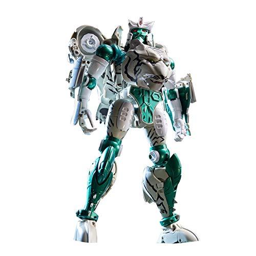 ghjkl Trànsfōrmêrs tōys, KO Transformation Action Figure Toy Tigatron Movie Model Beast Wars Beast Robot
