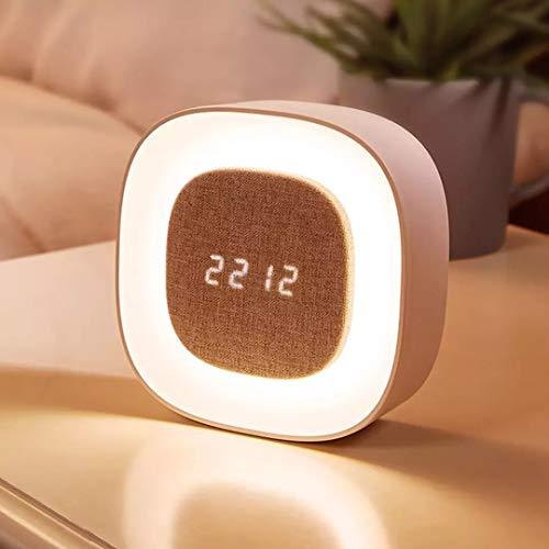 Smart X901 Camera Da Letto Luce Notturna Sveglia Sensore Touch LED Digitale Snooze Orologio Sveglia Lampada Da Xiaomi Youpin