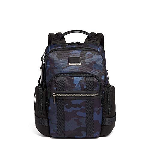 TUMI - Alpha Bravo Nathan Laptop Backpack - 15 Inch Computer Bag for Men and Women - Navy Camouflage