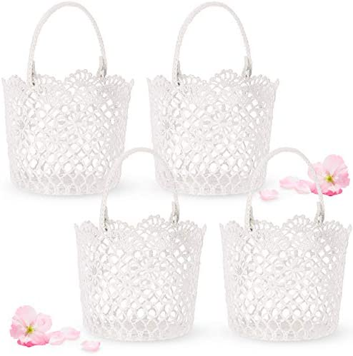 Top 10 Best flower girl basket and ring bearer pillow set Reviews