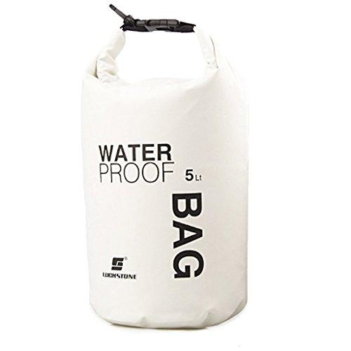 Dry Bag, wasserdicht Taschen mit Handy Dry Tasche für Boot und Kajak,, Angeln, Rafting, Camping (5L)