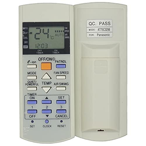 HYJ-R/C, Telecomando A75C3298 A75C2835 A75C3058 A75C2817 Adatto per Panasonic, RASONICO Nazionale AC Condizionatore (Taglia : 12 * 4.8 * 2.3cm)