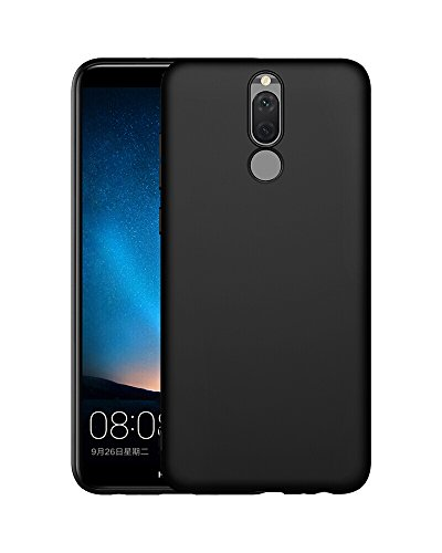 Olliwon Cover Huawei Mate 10 Lite, Ultra Sottile Anti Graffio Case Anti Impronte Protettiva e Leggera Cover per Huawei Mate 10 Lite, Huawei Mate 10 Lite Custodia - Nero