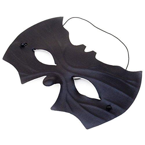 GOODS+GADGETS Fledermaus Maske - Schwarze Augenmaske Fledermausmaske Unisex