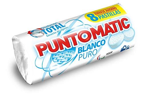 Puntomatic - Blanco Puro - Detergente pastillas - 8 pastillas