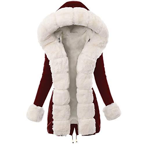 Higlles Mode Frauen Winter Hals Kapuze Daunen Warmer Mantel Daunenjacke Windbreaker Dicke Mantel