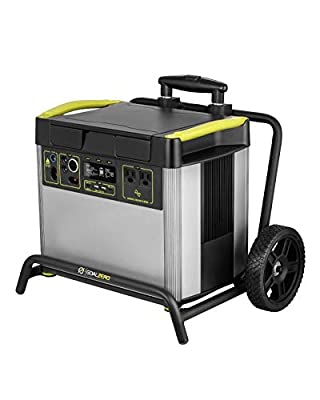 Yeti 3000X Portable Power Station, 2982Wh Portable Lithium Battery Emergency Power Station, 2000W Portable AC Inverter Generator, Outdoor Portable Generator, Portable Solar Generator for Solar Panels